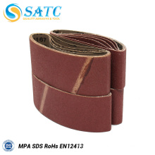 Sanding belts of sanding machine of Bison panel manufacturing