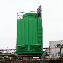 Tour de refroidissement carrée de contre-courant de FRP pour la centrale électrique