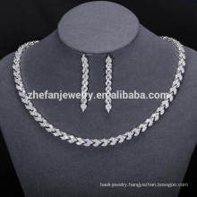 new fashion african jewelry sets dubai cubic zirconia jewellery for women