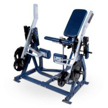 Fitness Hammer Strength Iso-Lateral Leg Extension Machine Gym