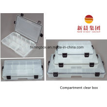 Caixa organizada ajustável de tamanho médio