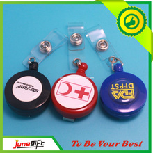Colorful Retractableplastic Badge Reel with Printing (JN-001)