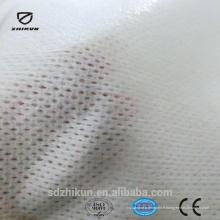 Tissu à l'éponge épuré non tissé respirant