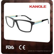 Nouvelles lunettes en acétate de HOT Man, nouveaux cadres optiques d'acétate de forme pour 2017