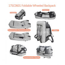 Folding Rolling Duffle Bag dengan Backpack