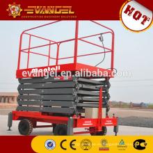 plataforma de elevación de tijera de plataforma de tijera de diseño de horquilla para silla de ruedas