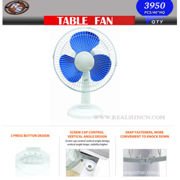 12inch Table Fan/Desk Fan with Factory Price Direct