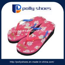 Newest Fancy Design Girls High Heel Beach Slippers