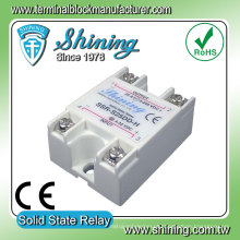 SSR-S25DD-H Relé de estado sólido monofásico DC de DC de 25 amp para DC