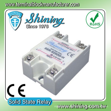 SSR-S25DD-H 25 Amp DC To DC Single Phase Solid State Relay