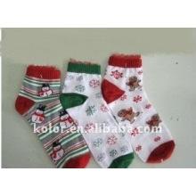 Рождественские хлопковые носки