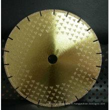 disque de diamant plaqué diamantado