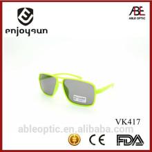 Best sell popular double color lindos crianças crianças óculos de sol óculos em atacado com ABC