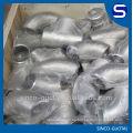 ASME / ANSI B16.9 accesorios de tubería a tope / accesorios de tubería de acero inoxidable SS304 SS316L