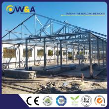 (HFW-3) Chine Construction préfabriquée 1000 mètres carrés Entrepôt Maisons préfabriquées de construction