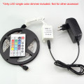 DC12V 6A/3CH Common Anode RGB LED Controller with 28 Key IR Remote for RGB Strip Light