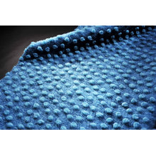 Plain Knitted Woolen Fabric Faux Fur