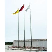 8m ~ 12m полюс нержавеющей стали флага HDG