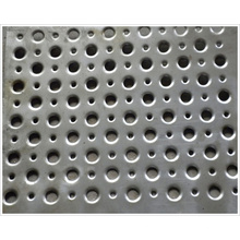 Chapa de acero perforada / chapa perforada Acero suave / Acero perforado de metal