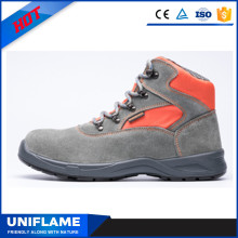Colorful Suede Leather Upper Women Safety Footwear Ufb027