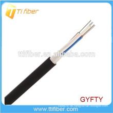 4-144 Kerne Dielektrisches lose Schlauch Unbewaffnetes in / out Faseroptikkabel GYFTY