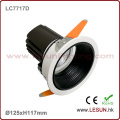Cut Hole 115mm 12W Recessed LED COB Down Light for Commerical Lighting LC7717D