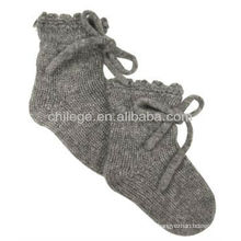 qualited cashmere baby knitted socks