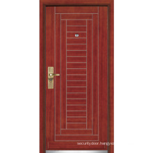 Steel Wooden Armored Door/Steel Wood Security Door (YF-G9002)