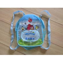 Saco de escola mochila de PVC (hbpv-61)