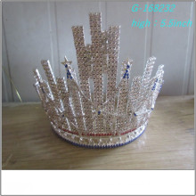 Wholesale Fashion pearl large pageant tiara full tall kings crowns pictures kings crowns pictures tiara
