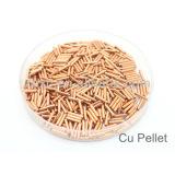 High purity Copper pellets 99.995% Cu pellet 4N5