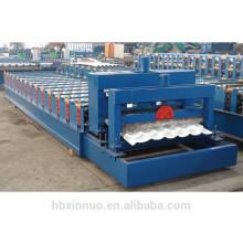 Telha vitrificada galvanizada telhadura do metel XN-1050 que faz a máquina