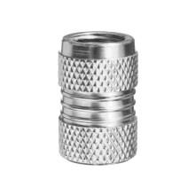 Tapa de vástago de válvula de aire de tapa de neumático personalizado de aluminio