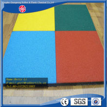 Outdoor Rubber Floor Tile Interlocking Rubber Floor Tile Playground Rubber Flooring
