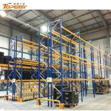 armazenamento resistente do armazém do racking da pálete da altura ajustável