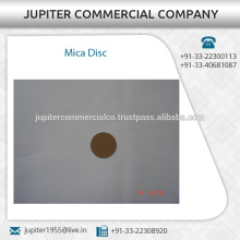 Industry Standard Chemical Resistant Mica Disc von oben Hersteller