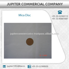 Industry Standard Chemical Resistant Mica Disc from Top Manufacturer