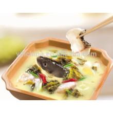 Condimento de pescado con Haidilao condimento en caldo
