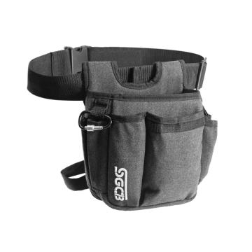 SGCB Pro Auto Detailing Tool Waist Bag Belt - Batik Canvas Adjustable Organizer Waist Tool Bag Heavy Duty Oxford Waist Pouch