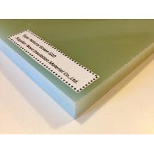 Folhas laminadas de fibra de vidro epóxi (G10)