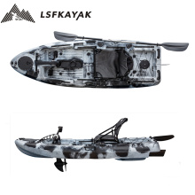2021 LSF Factory New Develop 2.5m Single 8ft Fishing Kayak With Pedal