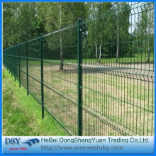 High Quality Triangular Bending Welded Wire Mesh Fence
