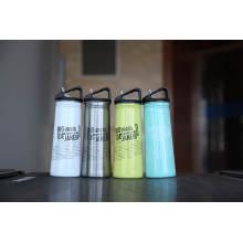 Ssf-580 Kolben Edelstahl Einwandige Outdoor Sports Wasserflasche