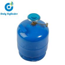 Manufacturers Wholesale Household Gas Regulator 2kg LPG Cylinder with Valve Burner Market