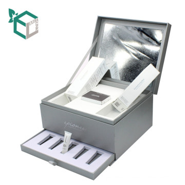 Extra Link Sliver Custom Paper Packing Box Cardboard Cosmetic Box