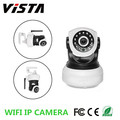 Wi-Fi 1mp Ip Camera CCTV Webcam com microfone