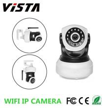 WiFi 1mp Ip Kamera CCTV Webcam dengan mikrofon