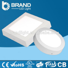 High Brightness Surface Mounted Square Led Flat Panel price 9w