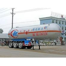 Semirremolque de transporte de 3 ejes LPG