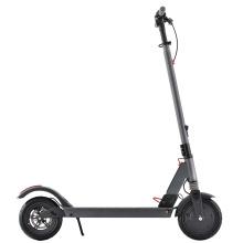 Scooter électrique de batterie au lithium de plate-forme plus longue